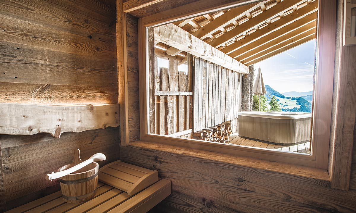 Chalets - private sauna